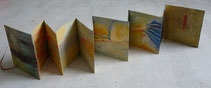 De sable et d'eau - Livre d'artiste de Catherine Berthelot - catherineberthelot.com