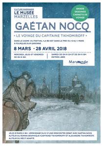 Exposition Bande Dessinée et carnets de voyage - Gaetan Nocq - Alexandre Tikhomiroff