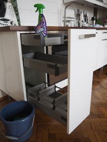 Magic Cleaning - oder wie meine Küche wieder aufatmen durfte ...