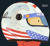 Michael Andretti by Muneta & Cerracín