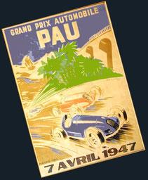 VIIIº Grand Prix Automobile de Pau 1947