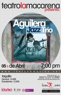 Aguilera Jazz Trío en Los Funámbulos