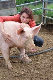 Martina mit Susi