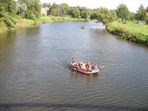 Marineking - Schlauchbootverleih Wurzen nach Eilenburg