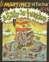 """Portada del último libro de Martínez """"el Facha"""": ¡¡Esto se hunde!!"""