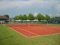 Tennishallenplatz  Teppich