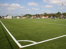 Fußball Kunstrasenplatz