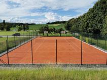 Tennisplatz Kunstrasen