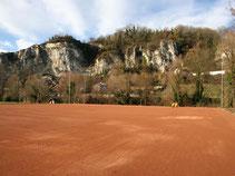 Fußball Tennenplatz
