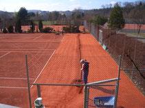 Tennisplatzwalze