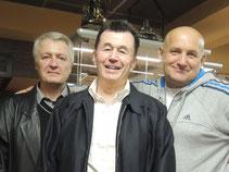 Слева направо: Горбунов И.В., Штурмин А.Б., Федоришен Ю.М.