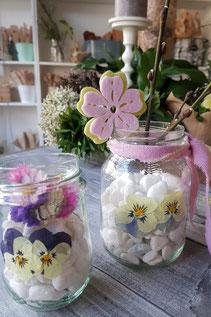 essbare blüten,stiefmütterchen dekorieren,stiefmütterchen