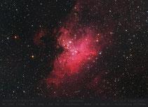 M 16 - Adlernebel - Ausschnitt