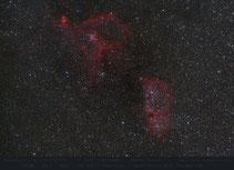IC 1805 und IC 1848