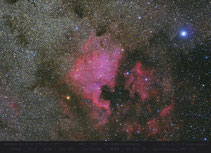 NGC 7000 , Pelinnebel