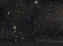 Dunkelwolke  Gamma Cygni