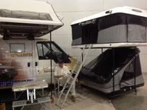 Палатки James Baroud на выставке Крокус Экспо.