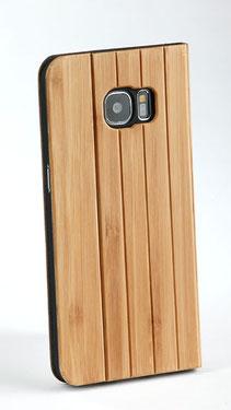 Galaxy s8 Plus Hülle Holz Blau Bamus