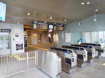 梅小路京都西駅出口
