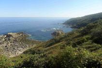 Le Jaizkibel depuis le cabo Higuer