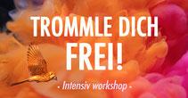 Trommle dich frei! • 22.10.2020 • Trommelschule Yngo Gutmann • 19-21:30Uhr • 20€