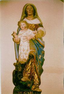 Statue de ND de Garlan