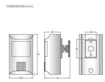 煙感知器型カメラ HD-SDI  カメラ HSG-Q200