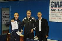 Победитель турнира в Категории рейтинг 40 и выше: Цыбулин Сергей