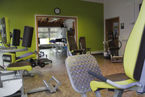 Studio- und Gymnastikraum je 40 qm