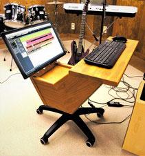 Meine neue Workstation im Proberaum