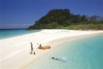 Genießen Sie entspannten Urlaub am Strand mit Kayaking und Schnorcheln.