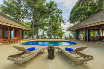 Experience dreamlike luxury hideaways on islands like Koh Jum.