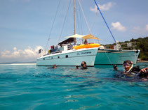 Experience top sailing areas in the Andaman Sea for sailing, snorkelling and diving.