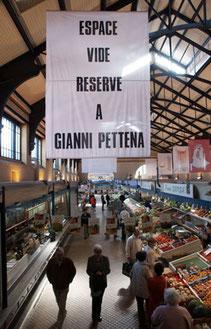 """Gianni Pettena, """"Contribution"""", Rennes, 2008"""