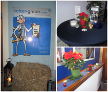 Weihnachtsfeier beim Energiebaumeister, Reiter GmbH