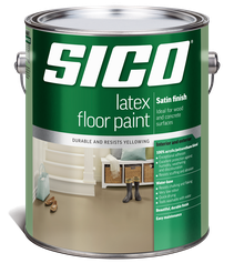 SICO LATEX AND POLYURETHANE FLOOR PAINT