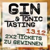 Gin-Tasting / Gewinnspiel