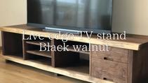 ブラックウォールナット テレビボード
