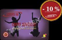 Carte LOISIRS 66 réductions Perpignan Claira