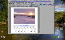 PC/GEOS Photo Calendar