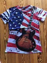 Tee shirt guitare