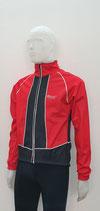 AITOS Sport Herren Winter Rad-Jacke  rot-schwarz 0.1