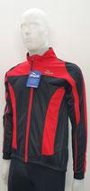 ROGELLI Sport Herren Winter Rad-Jacke  rot-schwarz Uzzano
