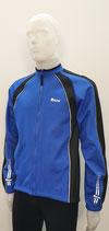 AITOS Sport Herren Winter Rad-Jacke  blau-schwarz Merano