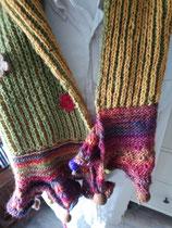 Gebreide sjaal by Siroja