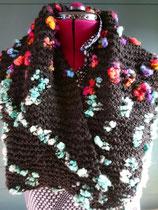 Gebreide poppy sjaal