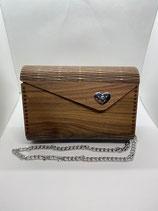 Holzhandtasche