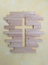 Kreuz aus Zirbenholz
