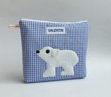 Kinderkulturbeutel Eisbär Valentin