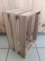 Caisse de rangement en bois massif